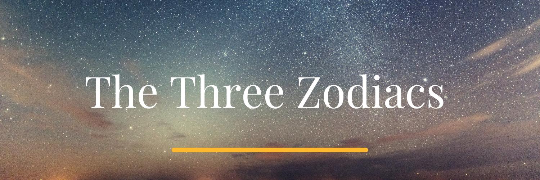 Three Zodiacs Astrology Hub