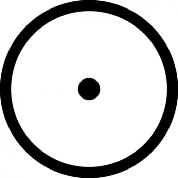 sun glyph astrologyhub.com