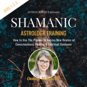 shamanic astrology training w/ Donna Woodwell