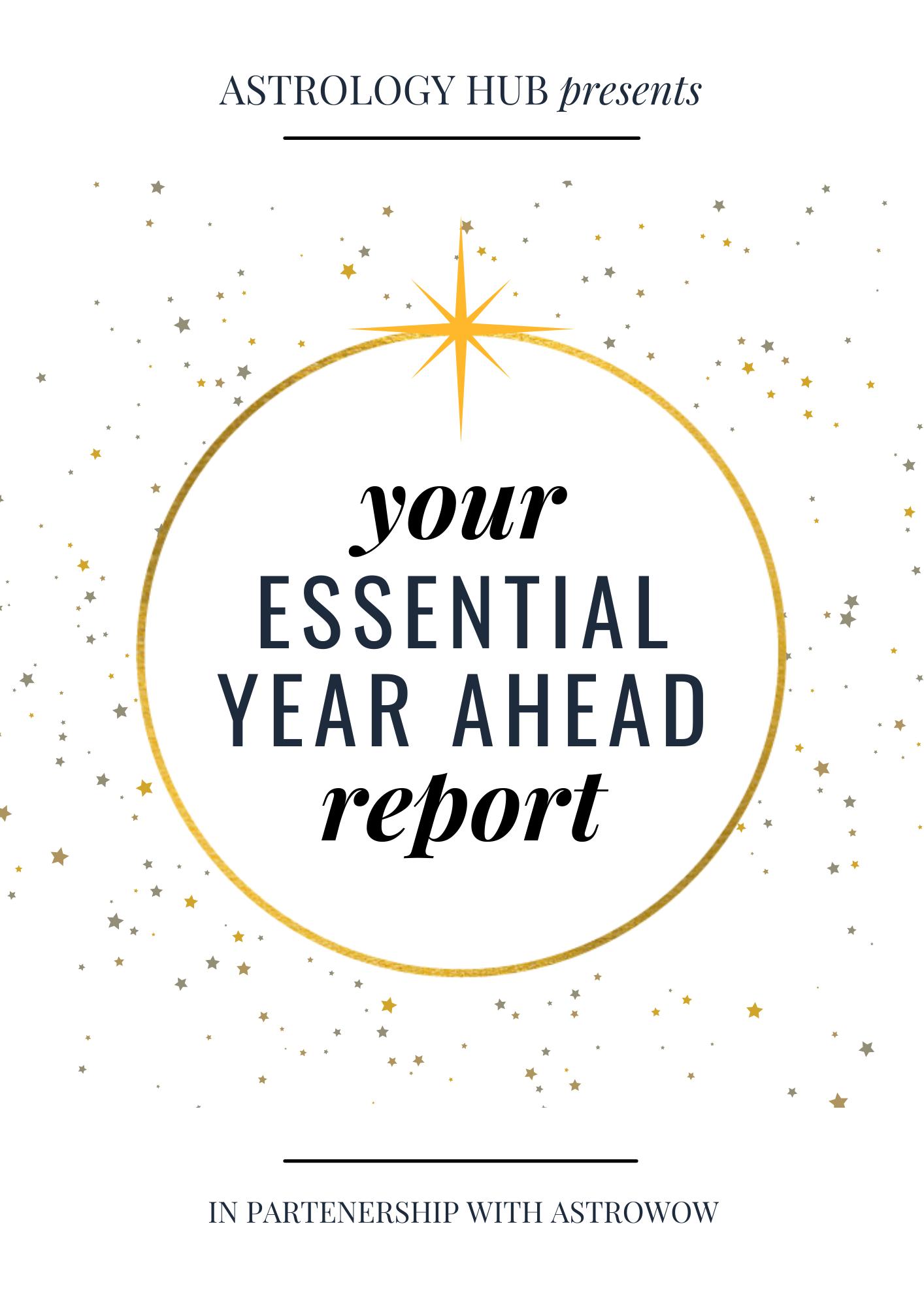essential year ahead astrology report